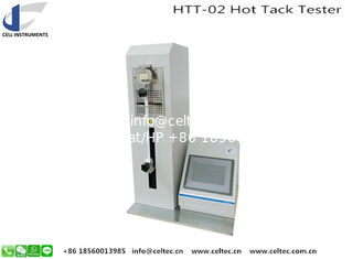China Hot Tack Tester HTT-02 ASTM F1921 Hot Tack Method B Polymer Heat Seal And Hot Tack Tester supplier