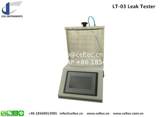 China Plastic Bag Seal Strength Leak Tester Food Package leakage tester K Cup Testing machine astm d3078 supplier