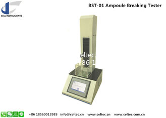 China Ampoule Breaking Strength Tester Ampoule Bottle Neck Breaking Force Tester Compression Testing Machine supplier