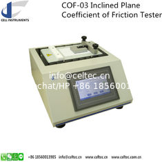 China INCLINED PLANE COEFFICIENT OF FRICTION TESTER STATIC COF TESTER SLIP SURFACE COF TESTER ASTM D 4918, ASTM D 202 supplier