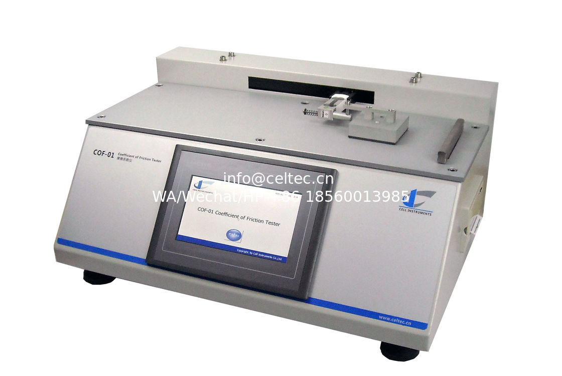 EVOH film Coefficient of Friction Tester