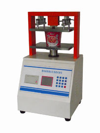China Paper cup compression tester Small box compressive force tester TAPPI compression test distributor