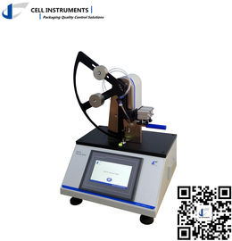 China Elmendorf pendulum type tearing tester gf/mN units touch screen operation pneumatic release microprinter factory