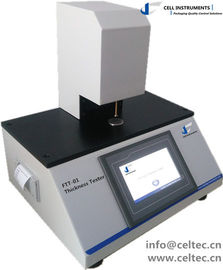 China Textile Thickness Tester by mechanical scanning ISO 4593 ASTM D374 ASTM D1777 distributor