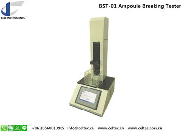Ampoule breaking force tester Glass vial lab testing instruments Pharmaceutical container tester GMP conformed