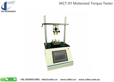MOTORIZED AUTOMATED PLASTIC AMPOULE TORQUE FORCE TESTER MEDICAL PACKAGE TWISTING STRENGTH TESTER