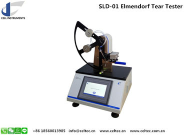 China Textile Elmendorf tear strength tester Pendulum Tearing Resistance Test Instrument 	tearing tester factory