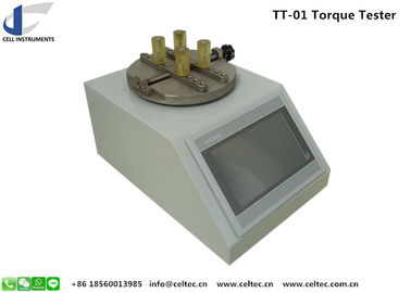Cap locking and opening torque tester Bottle Twisting strength testing equipment
