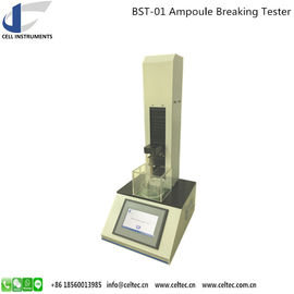 China GLASS AMPOULE NECK BREAKING STRENGTH TESTER ;DIN/ISO 9187; AMPUL BREAK FORCE TEST MACHINE factory