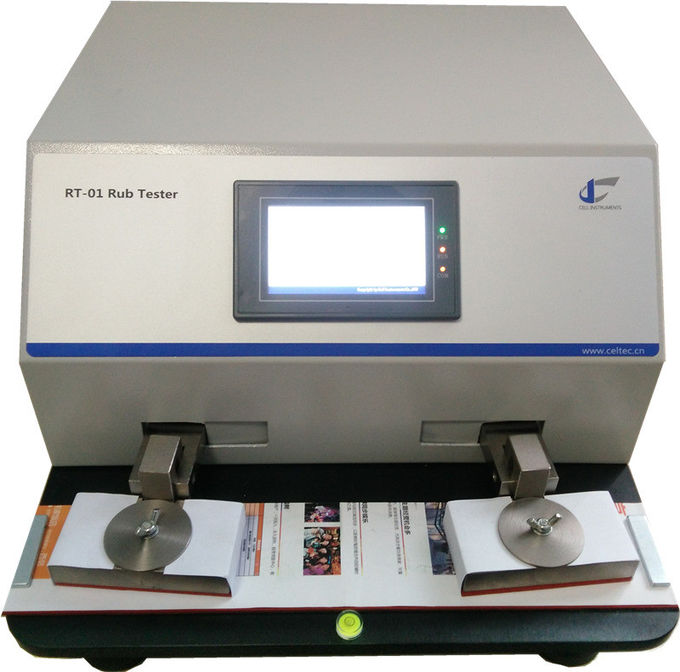 Printed or coated surface of paper ink rub tester|Abrasion resistance rub tester| TAPPI T830 ASTM D5264